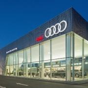 Neubau Audi Zentrum in Neutraubling