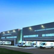 Neubau vollautomatisches Auslieferungslager der Fa. Hartl