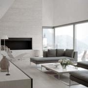 Moderne Wohnhäuser und Luxusvillen