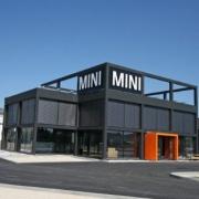 "Neubau Autohaus Lell ""MINI"" in Schwandorf"