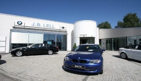Sanierung und Erweiterung BMW Lell in Schwandorf