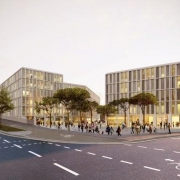 """Neubau Geschäfts- und Bürogebäude """"Das Dörnbergforum"""" in Regensburg"""