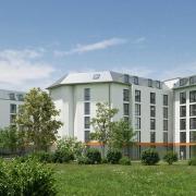 Neubau Boardinghaus First Sleep in München Griesfeldstraße mit 396 Zimmern